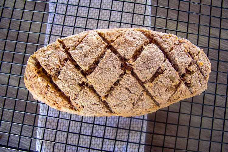 Almond bread for keto diet