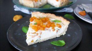 dried apricot tart