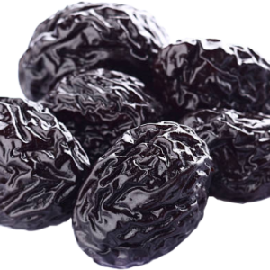 dried prunes, plums