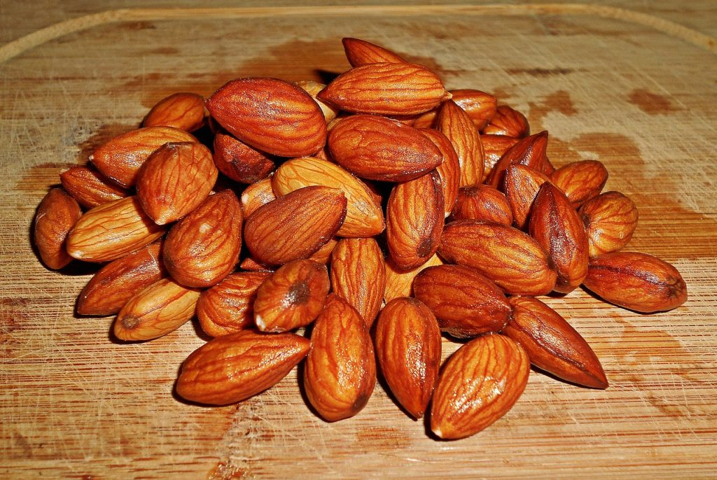 i love almond nuts