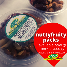 mixed nuts and fruits, NUTTY FRUITY MIX